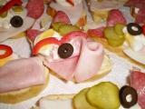 Chlebíčky z domácí večky recept