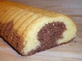 Dvoubarevný chlebíček II. recept