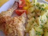 Kuřecí stehna se sýrem recept