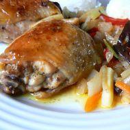 Kuřecí na indickém kari recept