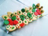 Máslové sušenky s marcipánem recept