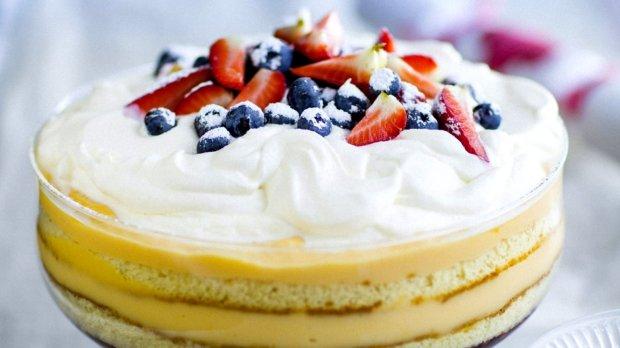 Sváteční trifle