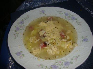 Topinky se sádlem do česnečky