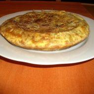 Tortilla Espaňola recept