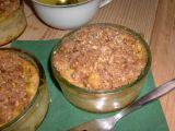 Svačinové jablečné misky s křupavou posýpkou recept ...