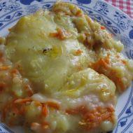 Kuřecí kostky zapečené s bramborovou kaší recept