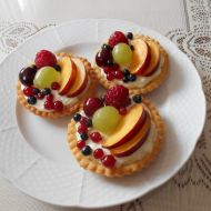 Tartaletky plné ovoce recept