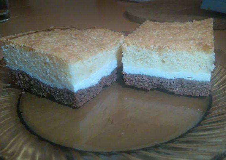 Tříbarevná buchta (Ala) recept