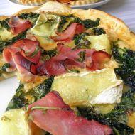 Domácí špenátová pizza recept