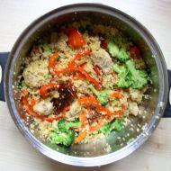 Kuskus s kuřecím masem a sušenými rajčaty recept