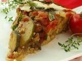 Kuskus zapečený, zeleninou zpečetěný recept