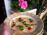 Zeleninová polévka se smetanou a sýry recept