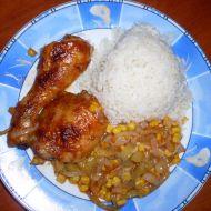Mexická kuřecí stehna recept