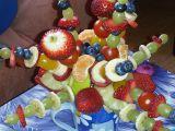 Ovocná kytka recept