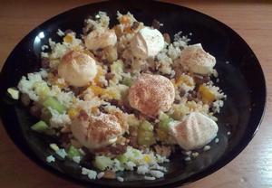 Ovocný salát pro zimní večery