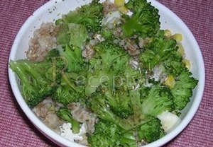 Brokolicové kernotto