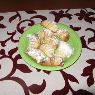 Plněné ořechové rohlíčky bez kynutí recept
