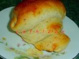 Šneci z mandlového kynutého těsta recept