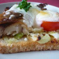 Uzená makrela na toastech recept