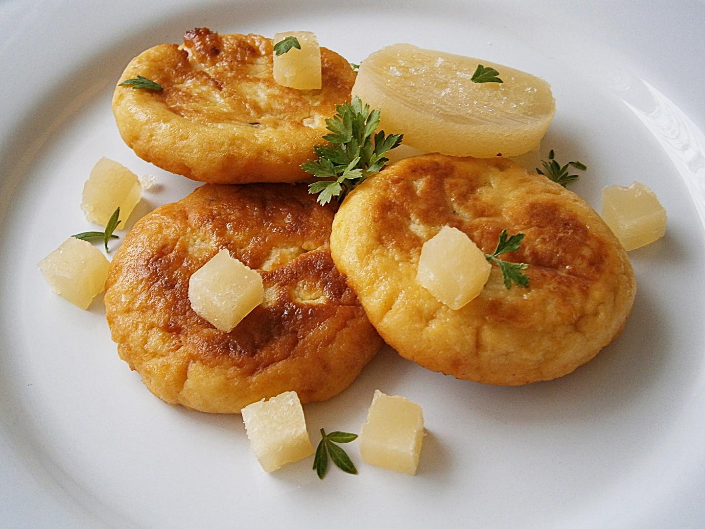 Placičky z bramborové kaše plněné tvarůžkem recept