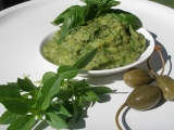 Pesto z cukety a mangoldu recept