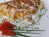 Plněná šlehaná omeleta recept