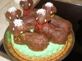 Velikonoční dortík recept