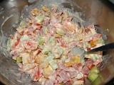 Těstovinový salát Myška recept