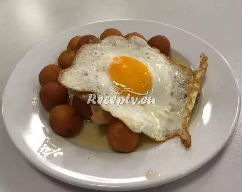 Kuřecí steak s vejcem a domácími kroketami recept  drůbeží maso ...