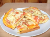 Pizza z jogurtu recept