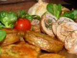 Bylinkové rolky s česnekem recept