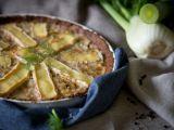 Quiche z květákového těsta s fenyklem a kokosem recept ...