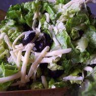 Hlávkový salát se sýrem recept