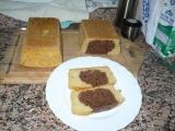 Dvoubarevný chlebíček recept