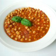 Cizrna v rajčatové omáčce recept
