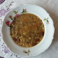 Hrstková luštěninová polévka recept