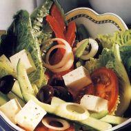 Řecký pastýřský salát recept