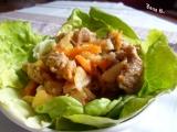 Pikantní krůtí kousky v zelenině recept