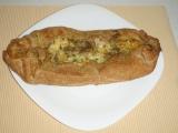 Listový závin s pestem a zeleninou recept