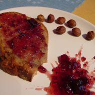Jablková bábovka s džemem recept