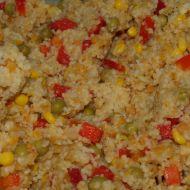 Zeleninový kuskus s červenou čočkou recept