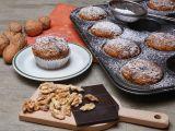 Celozrnné dýňové muffiny s ořechy a čokoládou recept ...