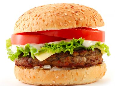 Hovězí hamburger