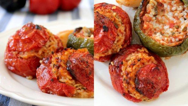 GEMISTA! Plněná rajčata a papriky