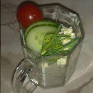 Vejce do skla recept