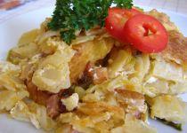 Smetanové těstoviny zapečené s bazalkovým špenátem recept ...