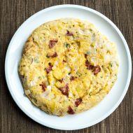 Tortilla s klobásou chorizo recept