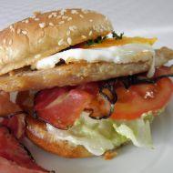 Domácí hamburger s krůtím masem recept