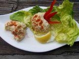 Okatá pomazánka se syrovátkovým sýrem a vajíčky recept ...