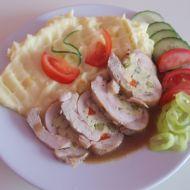 Kuřecí roláda s bramborovou kaší recept